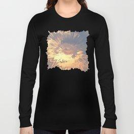 Sunset mandala explosion Long Sleeve T-shirt