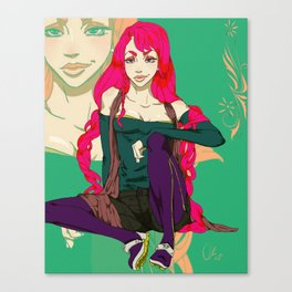 Stella aka Steel Canvas Print