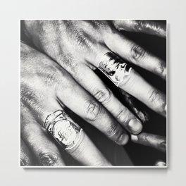 Hands Metal Print