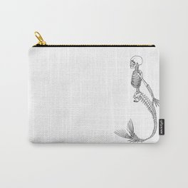 Mermaid Skeleton Carry-All Pouch
