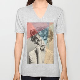 Another Portrait Disaster · with Jane Unisex V-Neck