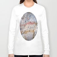 mineral Long Sleeve T-shirts featuring Mineral Vein by LilyMichael Photography