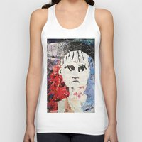 les mis Tank Tops featuring LES MISERABLES by JANUARY FROST