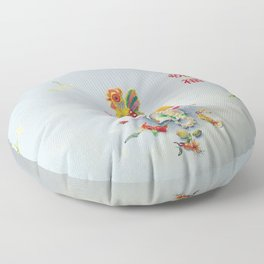 Year of the Rooster 金 雞 祝 福 Floor Pillow