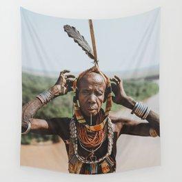 Karo Tribeswoman IV Wall Tapestry
