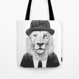 Sir lion Tote Bag