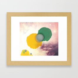 The Way They Do Framed Art Print
