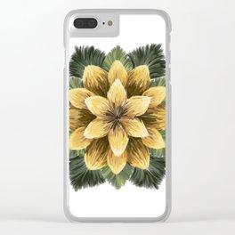 Verbascum Thapsus 2 Clear iPhone Case