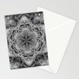 Magical black and white mandala 011 Stationery Cards