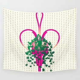 Heart Plant Wall Tapestry