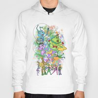 pixar Hoodies featuring Disney Pixar Play Parade - Bug's Life Unit by Joey Noble