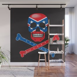 Skull Rebel Wall Mural