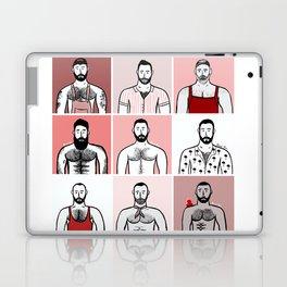 Beard Boy: Valentine Boys Laptop & iPad Skin