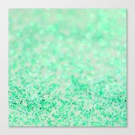 Sweetly Mint Canvas Print