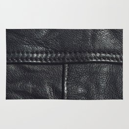 Leather texture Rug