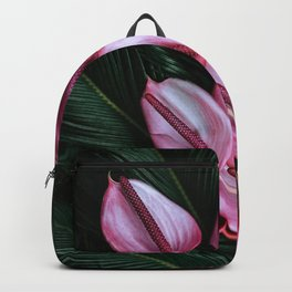 Anthurium and Sago Palm Backpack