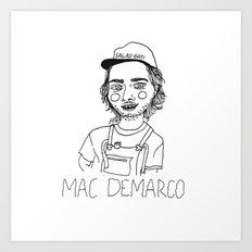 Mac DeMarco Art Print