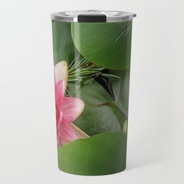 Lotus Flowe_pink1 Travel Mug