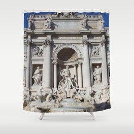 Fontana di Trevi Rome Italy Shower Curtain