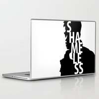 shameless Laptop & iPad Skins featuring Shameless by trenchcoatandimpala