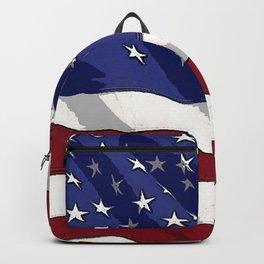 Fancy Flag:  USA 3 Backpack