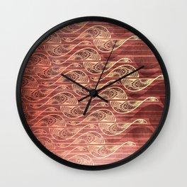 Soaring Flames Wall Clock