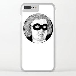 Zorro Costanza Clear iPhone Case