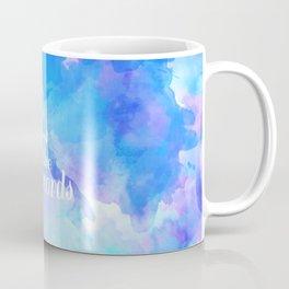 we live and breathe words Coffee Mug