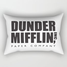 Dunder Mifflin Paper Company Rectangular Pillow