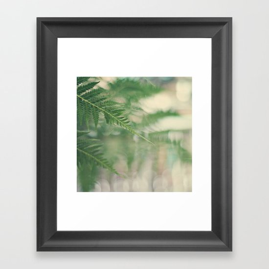 the forest dreams Framed Art Print