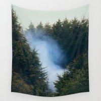 smoke Wall Tapestries featuring Smoke  by Robert Payton