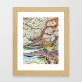 Cloudy Day Framed Art Print