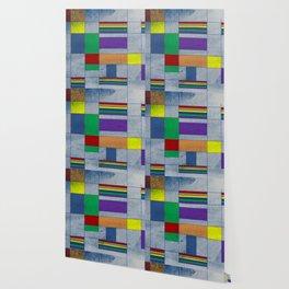 Mid-Century Modern Art - Rainbow Pride 1.0 Wallpaper