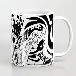 chak mool alien maya boho chic pattern ecopop Coffee Mug