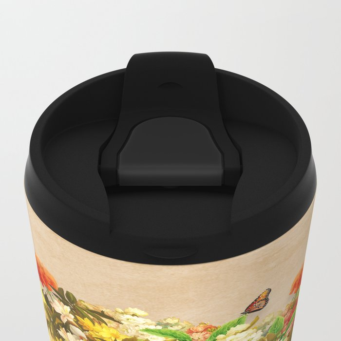 Flourishing Bliss Metal Travel Mug