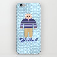 pablo picasso iPhone & iPod Skins featuring Pablo Picasso by Late Greats by Chen Reichert