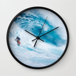 """""""DECIDE THAT YOU WANT IT MORE THAN YOU ARE AFRAID OF IT."""" Wall Clock"""