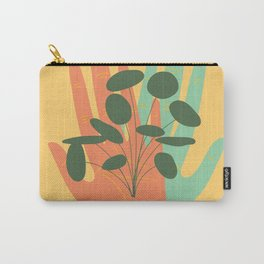 Plant Lovers - Hands On Illustration Carry-All Pouch