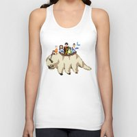 aang Tank Tops featuring The Gaang by NeleVdM