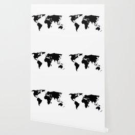 World Outline Wallpaper