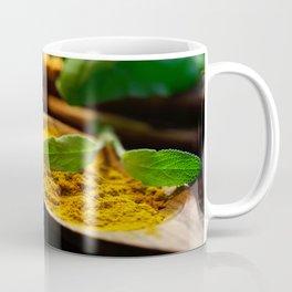 Fresh curry powder still life Coffee Mug
