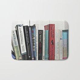 Book shelf love- we are what we read Bath Mat