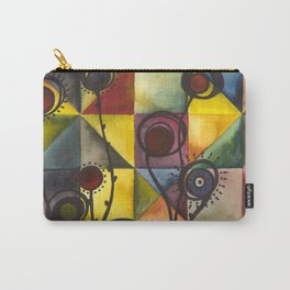 Garden of Origami Flowers Carry-All Pouch