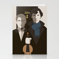 gothic Stationery Cards featuring British Gothic by Danny Haas