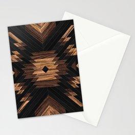 Urban Tribal Pattern No.7 - Aztec - Wood Stationery Cards