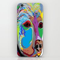 rottweiler iPhone & iPod Skins featuring Rottweiler by EloiseArt
