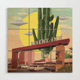 Desert Inn Wood Wall Art