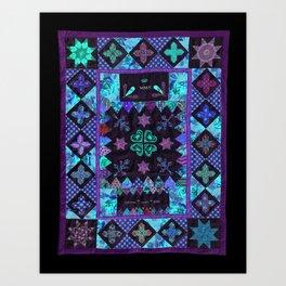 Nancy Horsfall's Crib Quilt Art Print