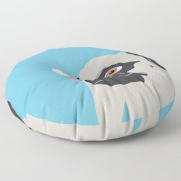 Pug Butterfly Flat Graphic Floor Pillow