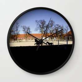 shadow horse Wall Clock